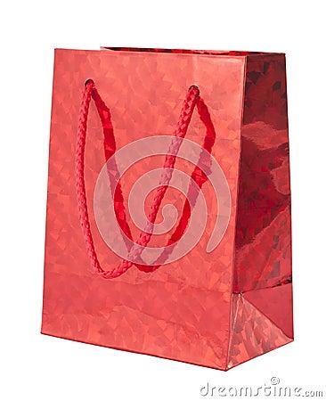 Red giftbag