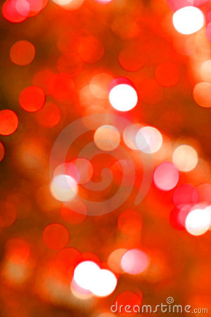 Red glow light blur