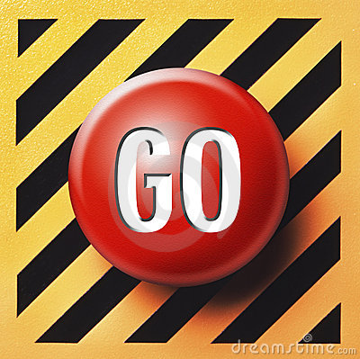 Red GO button
