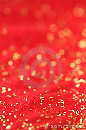 Red and gold background