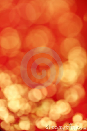 Red and gold blur