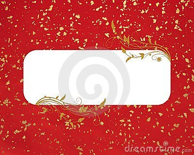 Red gold copy-space background