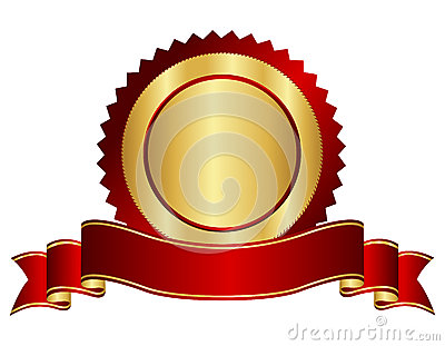 red and gold empty stamp with banner stock vector image first place ribbon clip art free first place ribbon clip art for science fair