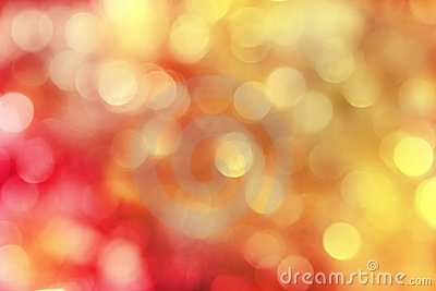 Red and gold sparkly holiday background