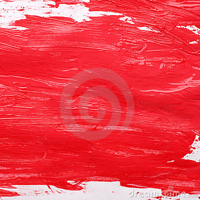 Free Red Gouache Background Stock Image - 8367731
