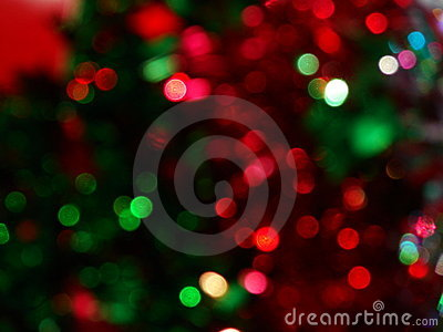Red Green Abstract Background