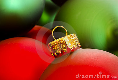 Red & Green Christmas Ornaments