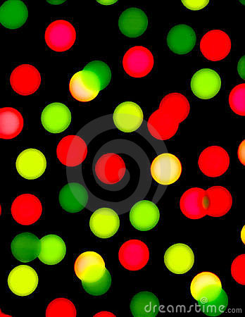 Red and Green Dots on Black wallpaper