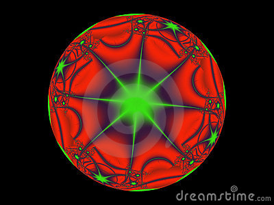 Red and Green Mystic Sphere