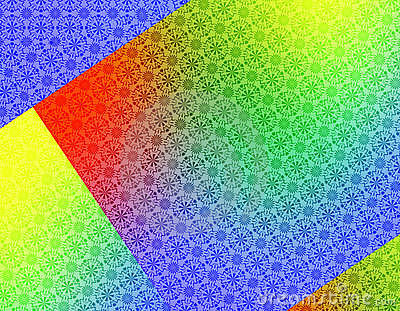 Red Green Yellow Blue Geometric Background wallpaper