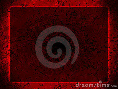 Red grunge background for pres