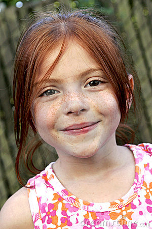 Free Red Hair And Freckles Royalty Free Stock Photography - 2839807
