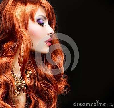 Free Red Haired Girl Royalty Free Stock Image - 25269096