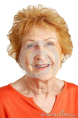 Red Haired Senior - Hopeful