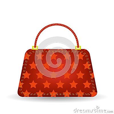 Free Red Handbag Royalty Free Stock Image - 55100766