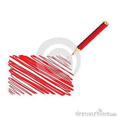 Red handwritten rectangle