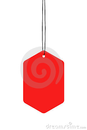 Red Hanging Tags