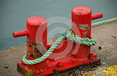 Red Harbour Bollards