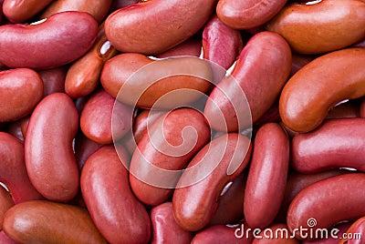 Red haricot beans macro