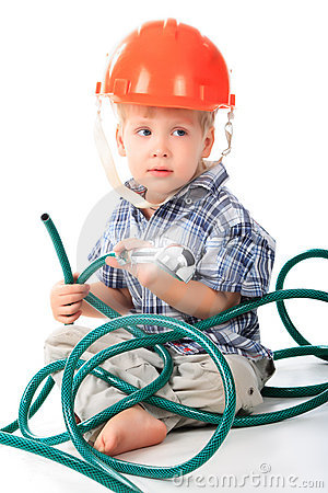 Free Red Hat Boy Royalty Free Stock Photos - 7722088