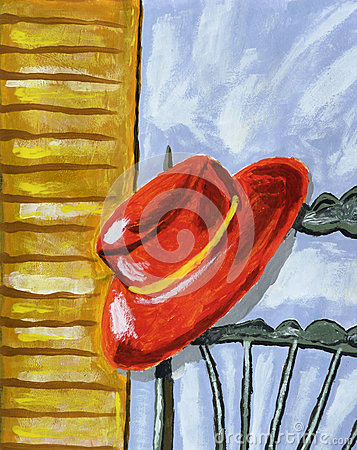 Red Hat Painting