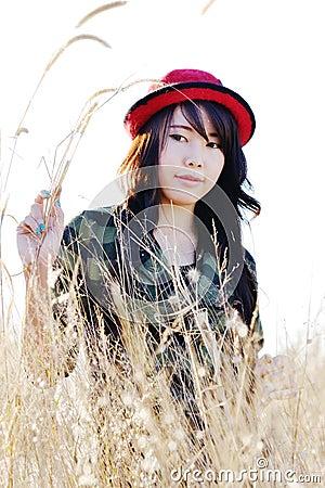Red hat pretty girl03