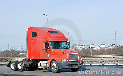 Red hauler truck of my trucks and business vehicle