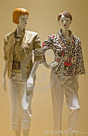 Red Headed Mannequins