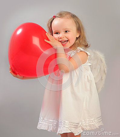 Free Red Heart Stock Image - 28699131
