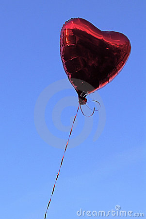 Red Heart Ballon