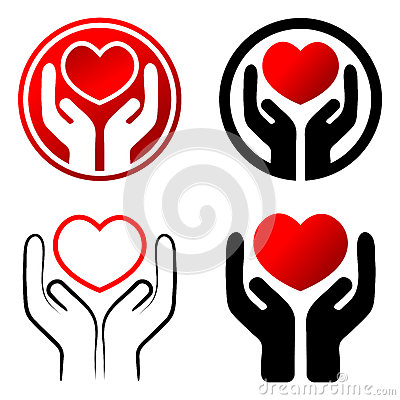 Free Red Heart In Hands Royalty Free Stock Photos - 40984858