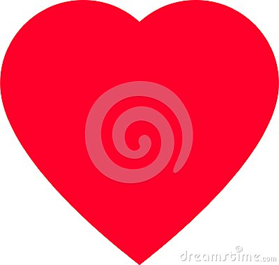 Free Red Heart Shape For Love Symbols Stock Images - 108336744