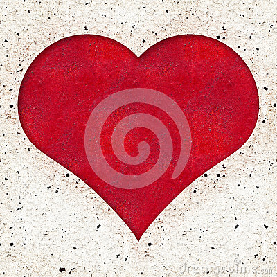 Red Heart textured background