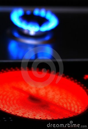 Red hot ceramic stove electric cooker and
