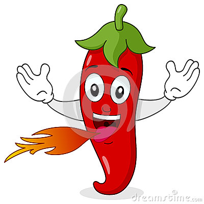 Red Hot Chili Pepper Character