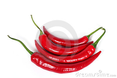 Red hot chili-peppers