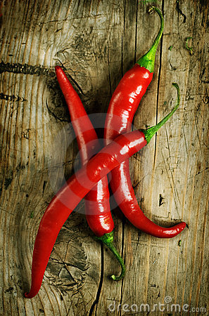 Free Red Hot Chili Peppers Stock Photography - 16123622