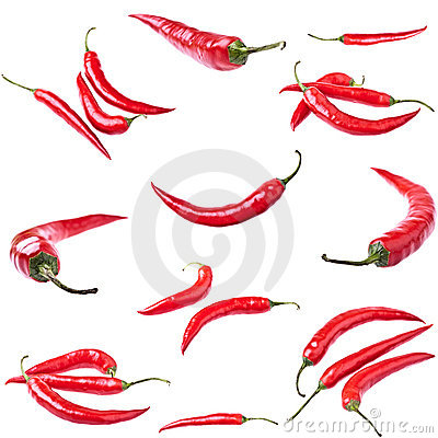 Free Red Hot Chili Peppers Royalty Free Stock Photography - 17461247