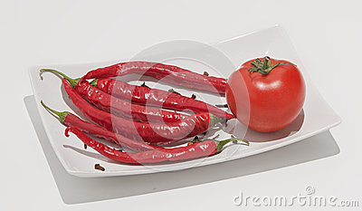Red Hot Chili Peppers Royalty Free Stock Photos - Image: 26660948