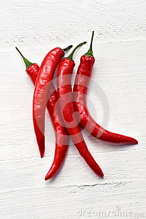 Free Red Hot Chili Peppers Stock Photography - 32352502