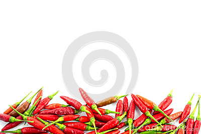 Fresh Red Pepper Border Stock Photography - Image: 34395102