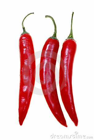 Free Red Hot Chilli Peppers Royalty Free Stock Image - 9733946