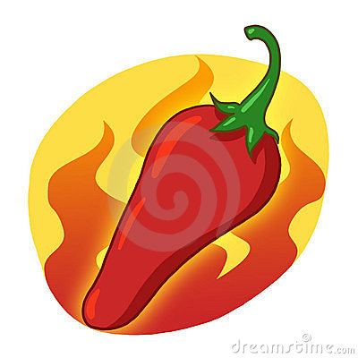 Red Hot Pepper illustration