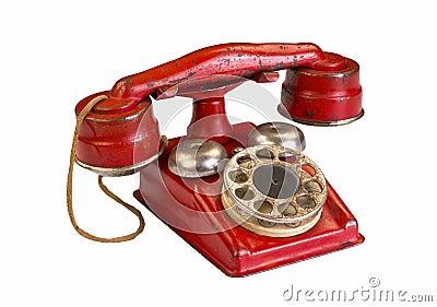 Red Hotline Phone.