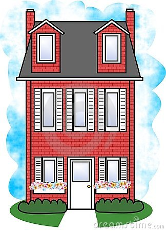Free Red House Stock Photo - 284050