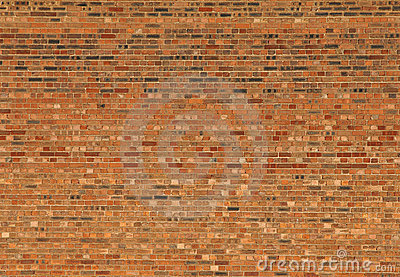 Red house brick wall