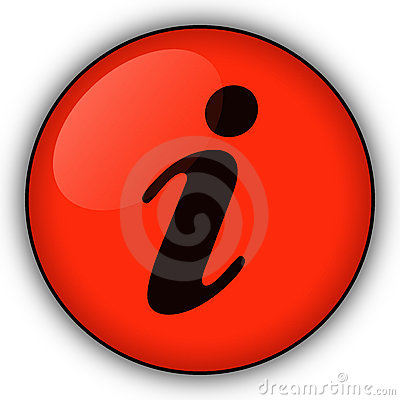 Red information button