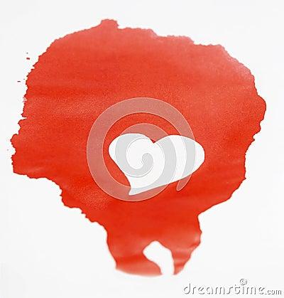 Red ink plot