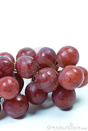 red juicy seedless grapes