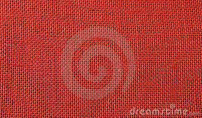 Red jute background